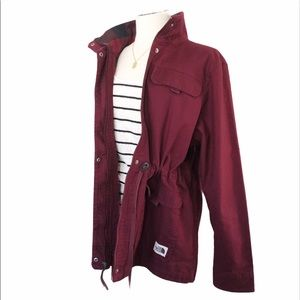 THE NORTH FACE Urban Utility Jacket Deep Red Sz XL